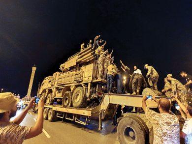 Photo of ليبيا: رصد رتل مسلح لحفتر من الجفرة لسرت