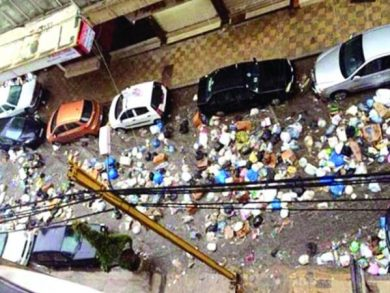 Photo of لبنان عاجز أمام النفايات