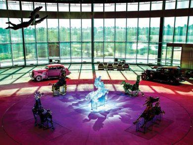 Photo of مؤسسة قطر تعرض العمل الفني «سيروا في الأرض»