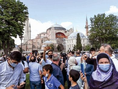 Photo of إعادة آيا صوفيا إلى مسجد.. انتصار للسيادة التركية