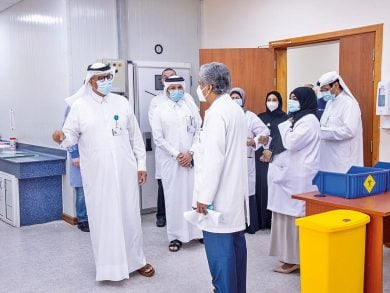 Photo of افتتاح جزئي لمركز طوارئ الصناعية