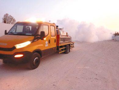 Photo of حملة لمكافحة الحشرات والقوارض بالشيحانية