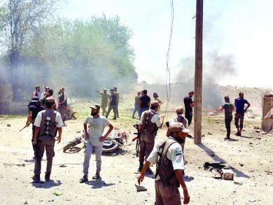 Photo of سوريا: 3 قتلى و20 جريحاً بانفجار في رأس العين