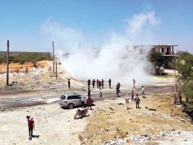 Photo of غارات روسية مكثفة وقصف للنظام بريف إدلب