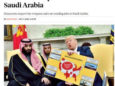 Photo of معارضة في الكونغرس لنقل التكنولوجيا العسكريّة للسعودية