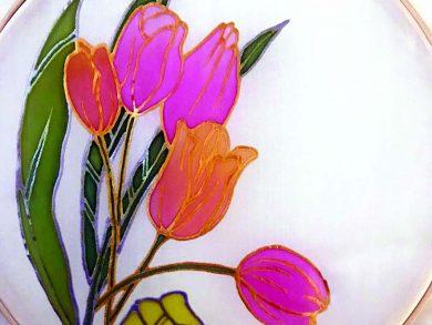 Photo of الرسم على الحرير بفتيات العزيزية