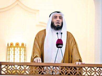 Photo of الشيخ محمد المحمود خطيبا للجمعة بجامع الإمام
