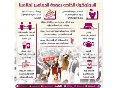 Photo of عودة الجماهير تثري المباريات الحاسمة