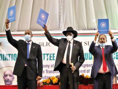 Photo of عودة المُوقعين على اتفاق السلام للخرطوم منتصف نوفمبر