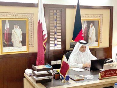 Photo of وزير خارجية أفغانستان يُطلع السفراء المعتمدين بمشاركة قطر على جهود السلام