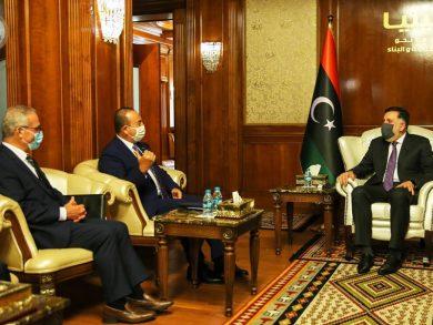 Photo of رئيس حكومة الوفاق الليبية يبحث الوضع في بلاده مع وزيري خارجية تركيا ومالطا
