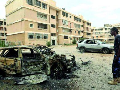 Photo of قوات حفتر تقصف مواقع للجيش الليبي