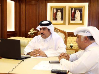 Photo of بلدية الدوحة تشارك في جلسة نقاشية لدعم بيروت
