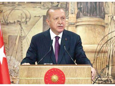 Photo of أردوغان: فلنجعل« المتوسط » بحيرة سلام