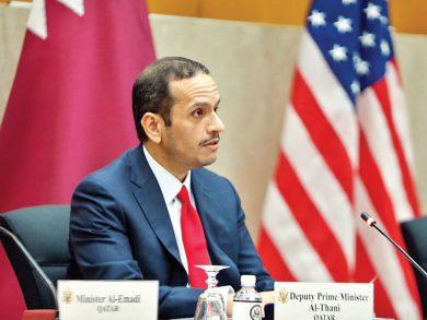 Photo of الحوار الاستراتيجي القطري – الأمريكي يعكس علاقاتنا المزدهرة