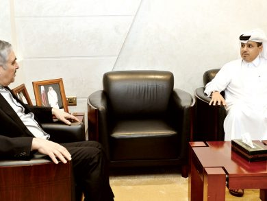 Photo of السفير الإيراني في ضيافة الراية