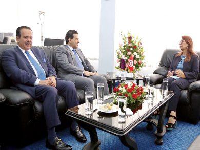 Photo of النائب العام يجتمع مع وزيرة التعليم العالي في تونس