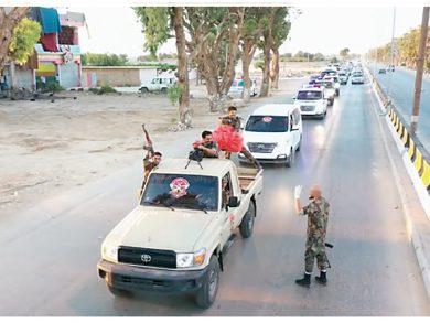 Photo of قوات الوفاق ترصد رتلًا عسكريًّا لميليشيات حفتر