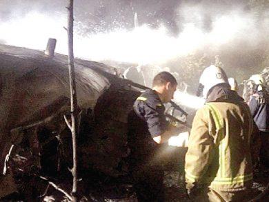 Photo of مقتل عشرات الطلاب بتحطم طائرة عسكرية أوكرانية