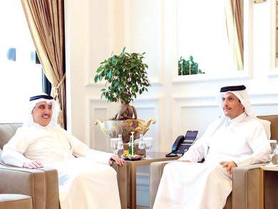 Photo of نائب رئيس الوزراء يجتمع مع وزير الخارجية الكويتي