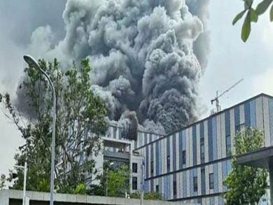 Photo of 3 قتلى بحريق في شركة «هواوي» في الصين