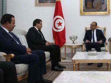 Photo of رئيس الحكومة التونسية يستقبل النائب العام