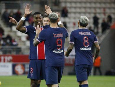 Photo of سان جيرمان يفوز على رينس في الدوري الفرنسي لكرة القدم