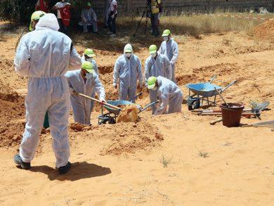 Photo of ليبيا: اكتشاف 5 مقابر جماعية جديدة في ترهونة