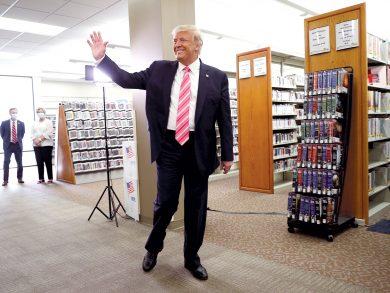 Photo of ترامب يدلي بصوته في فلوريدا