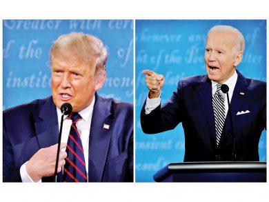 Photo of ترامب وبايدن يتواجهان في مناظرة هيمنت عليها كورونا والمعاملات المالية الخاصة