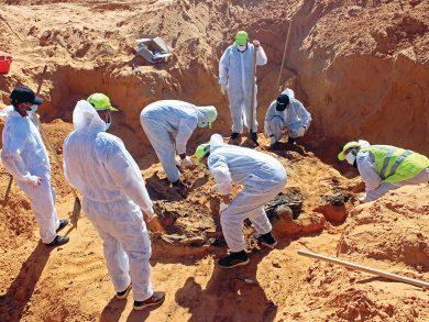 Photo of ليبيا: مقابر جماعية جديدة في ترهونة