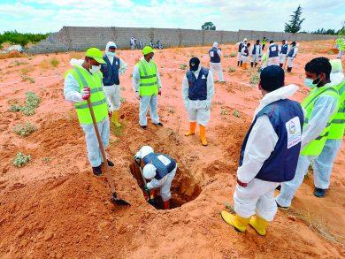 Photo of ليبيا: مقابر ترهونة تسلط الضوء على جرائم حفتر