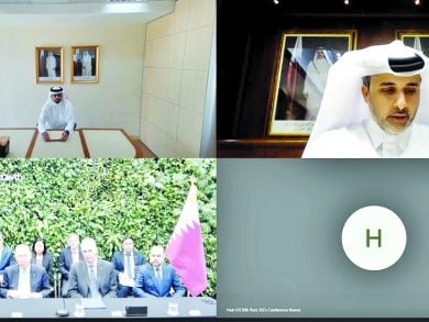 Photo of صندوق قطر للتنمية يوقع مذكرة تفاهم مع المعهد العالمي للنمو الأخضر