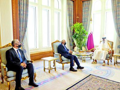 Photo of صاحب السمو يستقبل وزيري الخارجية والداخلية الليبيين