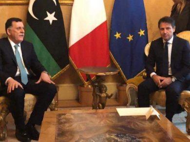 Photo of ليبيا وايطاليا تبحثان تعزيز علاقاتهما ومسار المفاوضات بين الأطراف الليبية
