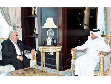 Photo of أمين عام الخارجية يجتمع مع سفير كوبا