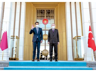 Photo of صاحب السمو يشكر الرئيس التركي