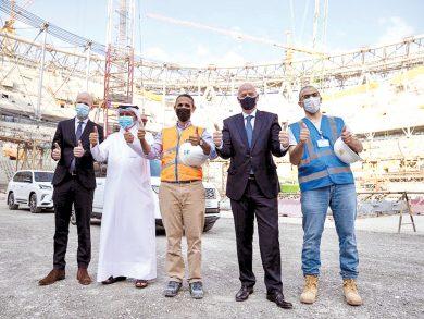 Photo of تجربة قطر في تنظيم المونديال ستكون فريدة من نوعها
