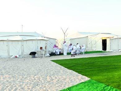 Photo of مخيمات برية محرومة من الخدمات