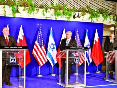 Photo of البحرين وإسرائيل تتفقان على تبادل فتح السفارات
