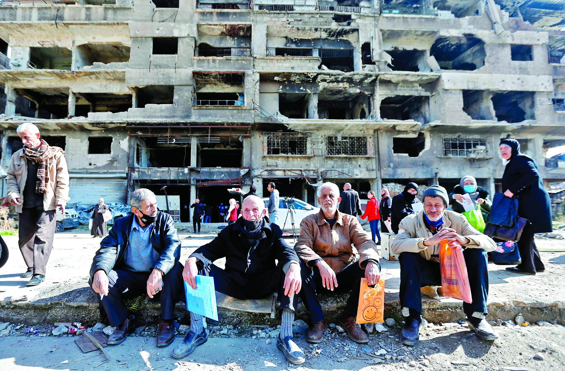 لاجئين سوريين - سوريا