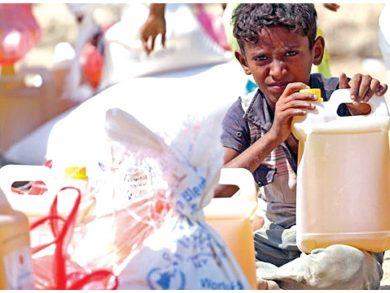 Photo of برنامج الأغذية العالمي: المجاعة في اليمن قنبلة موقوتة