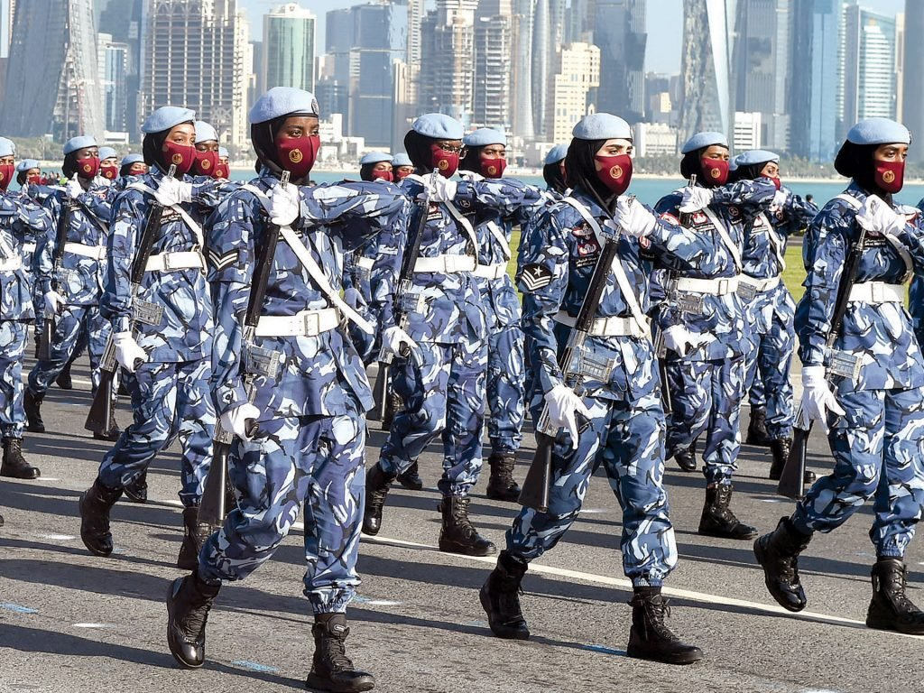 A successful rehearsal of the National March on the Corniche