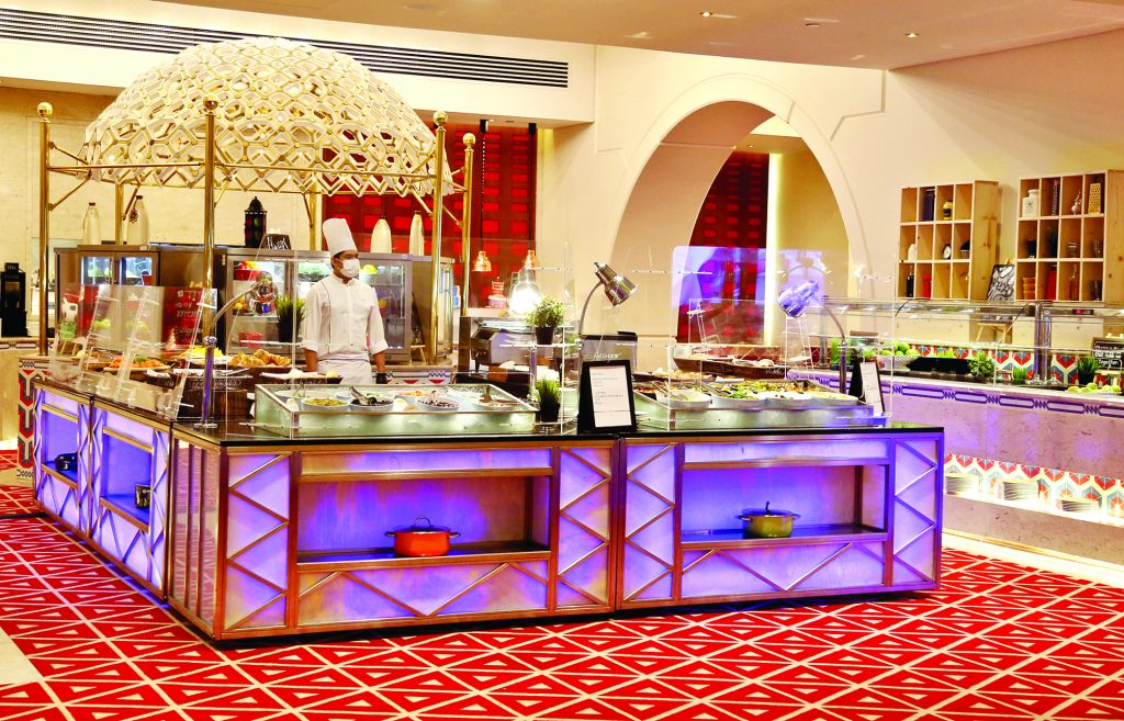 """Umm Ali"": the most famous dessert in the Sheraton Grand Hotel"