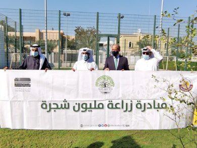 Photo of السفير الأردني يشارك بمبادرة «زراعة مليون شجرة»
