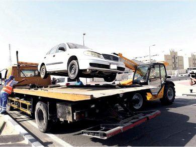 Photo of إزالة 746 سيارة مهملة ببلدية الدوحة
