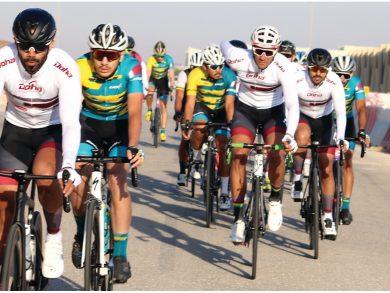 Photo of منافسة قوية في دوري الدرّاجات الهوائية