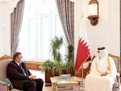 Photo of نائب الأمير يستعرض تعزيز التعاون مع رئيس شركة توتال