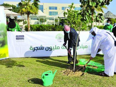 Photo of سفير السويد يشارك بمبادرة زراعة مليون شجرة