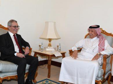 Photo of وزير الدولة للشؤون الخارجية يجتمع مع وزير الشؤون الخارجية والأوروبية في مالطا